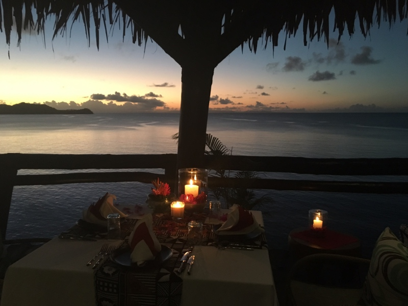 Laucala Dining by Design