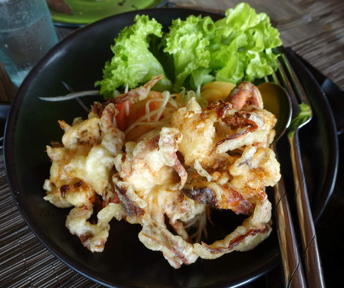 Softshell Crab Salad