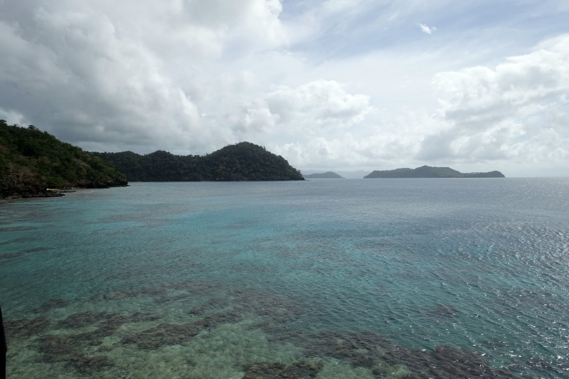 View from Seagrass Restaurant, Laucala Review