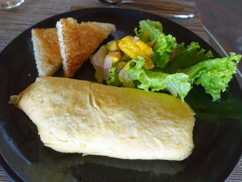 Omelet, Breakfast at Laucala