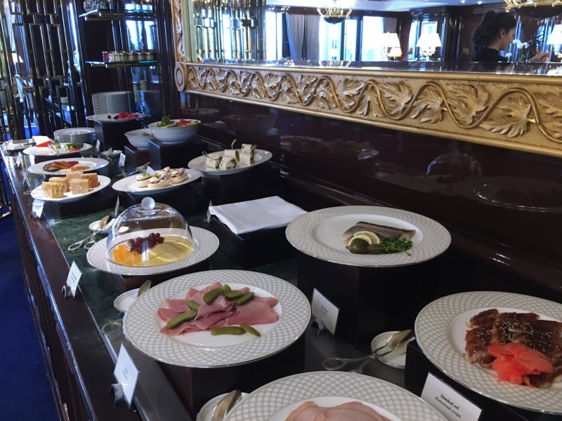 Ritz-Carlton Moscow Club Lounge Lunch Buffet