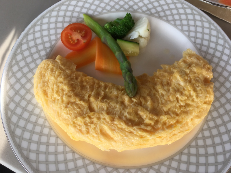 Omelet, Ritz-Carlton Moscow Club Lounge Breakfast Review