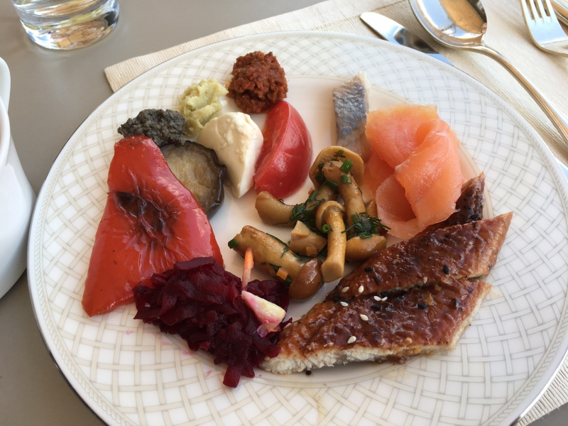 Lunch, Ritz-Carlton Moscow Club Lounge Review