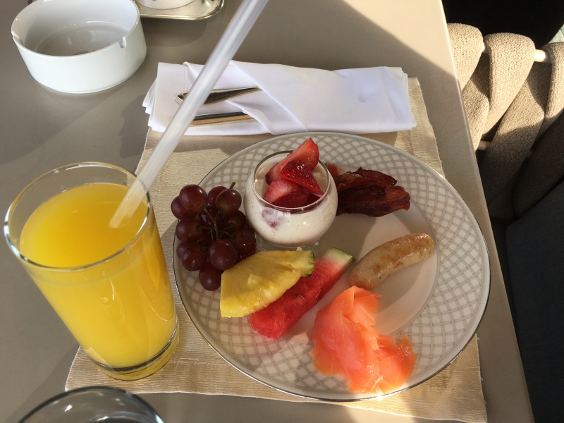 Ritz-Carlton Moscow Club Lounge Breakfast Review