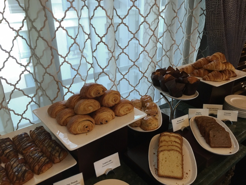 Breads and Pastries, Ritz-Carlton Moscow Club Lounge Breakfast