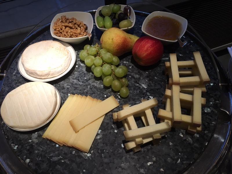 Cheese Plate, Baur au Lac Breakfast Review