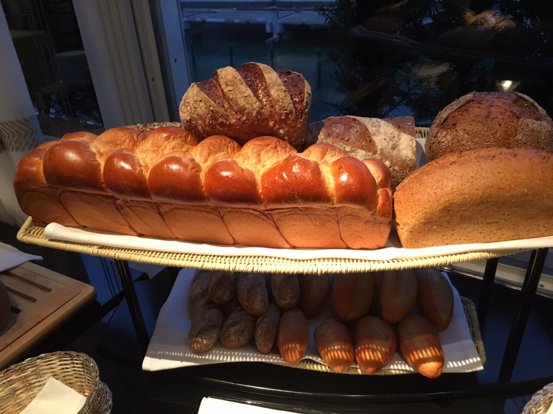 Breakfast Breads, Baur au Lac Review