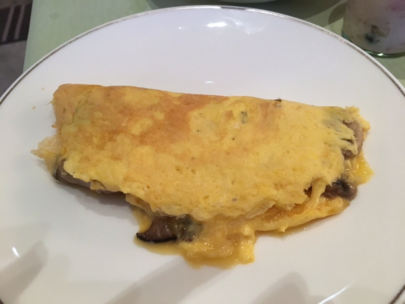 Omelet, Baur au Lac Breakfast Review