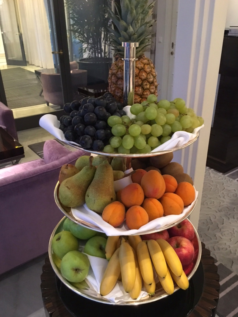 Fresh Whole Fruits, Baur au Lac Breakfast Review