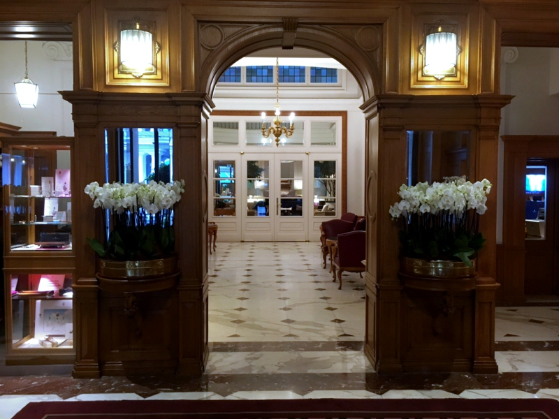 Lobby, Baur au Lac Review
