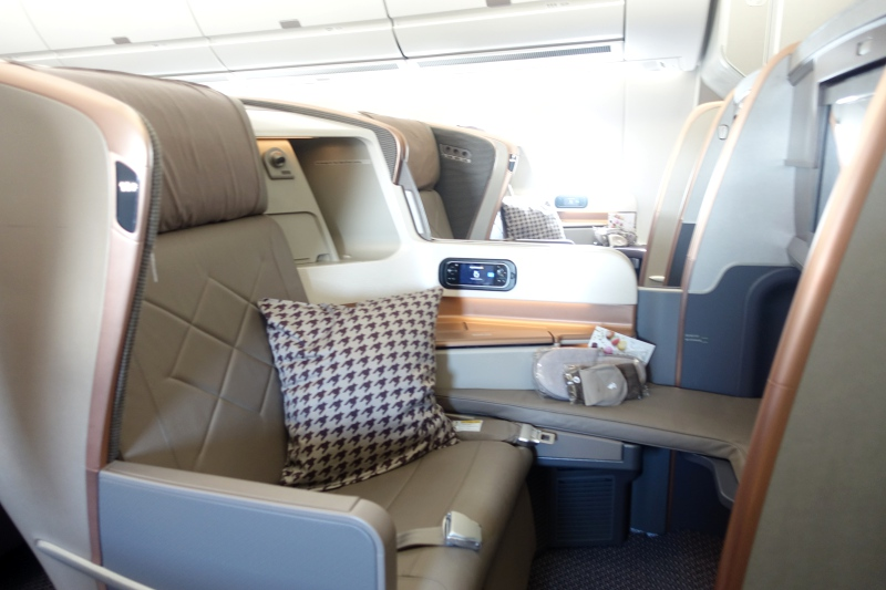 Review: Singapore Airlines Business Class A350-900
