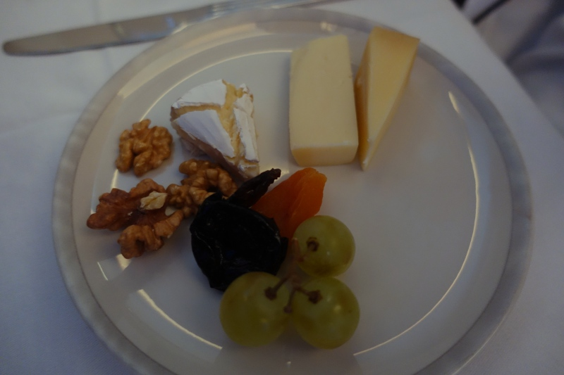Singapore Business Class Cheese Plate