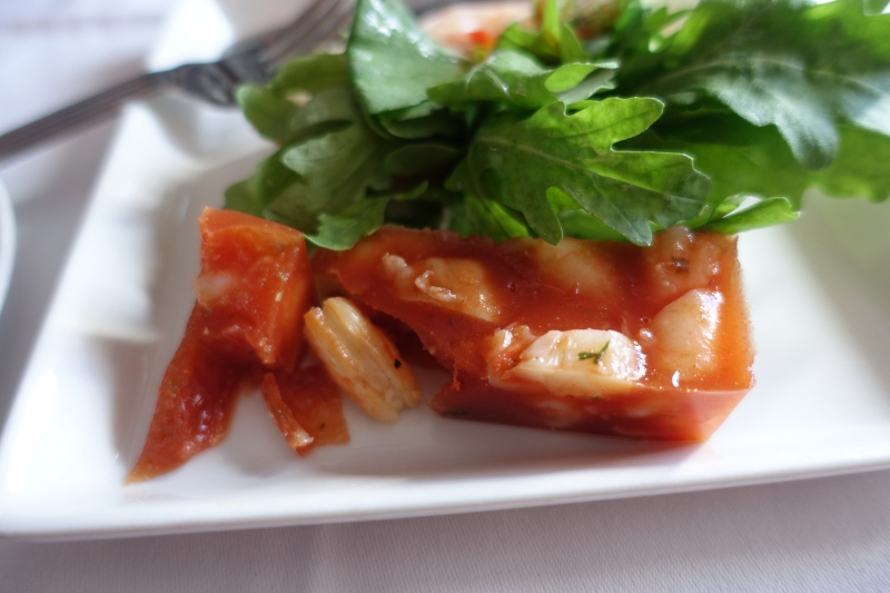 Prawn in Tomato Jelly: Too Gelatinous for Me