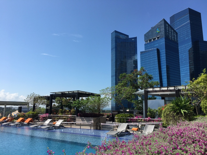 Pool, The Fullerton Bay Hotel Singapore Review