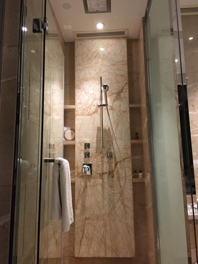 Rain Shower, The Fullerton Bay Singapore Review