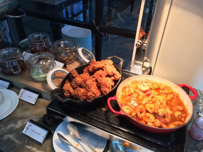 Nasi Lemak, The Fullerton Bay Singapore Breakfast Buffet