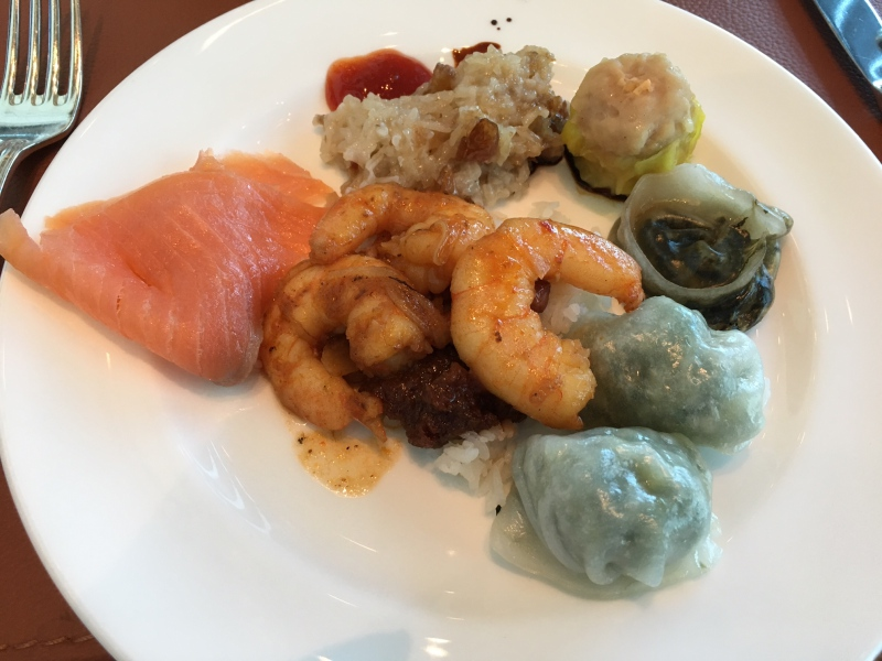 Breakfast, The Fullerton Bay Singapore Review