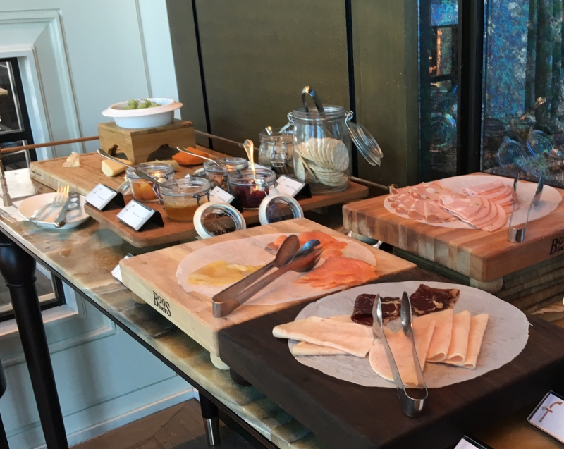 Smoked Salmon and Cold Cuts, The Fullerton Bay Singapore Breakfast