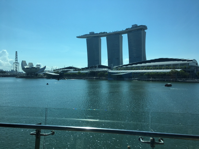 View, The Fullerton Bay Singapore Review