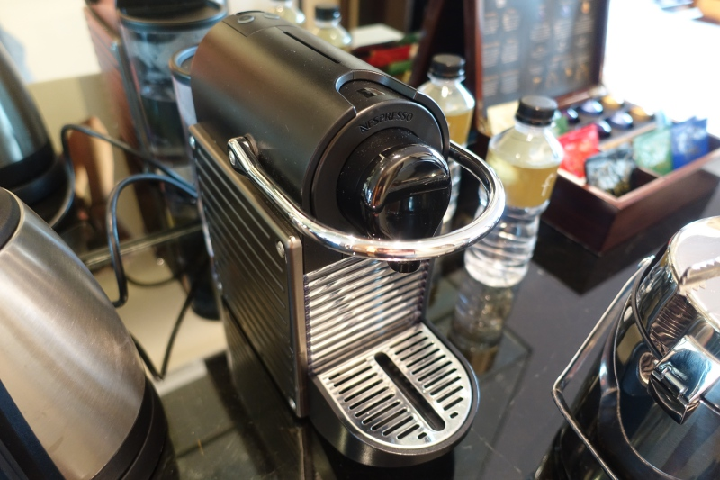 Nespresso Machine, The Fullerton Bay Singapore Review