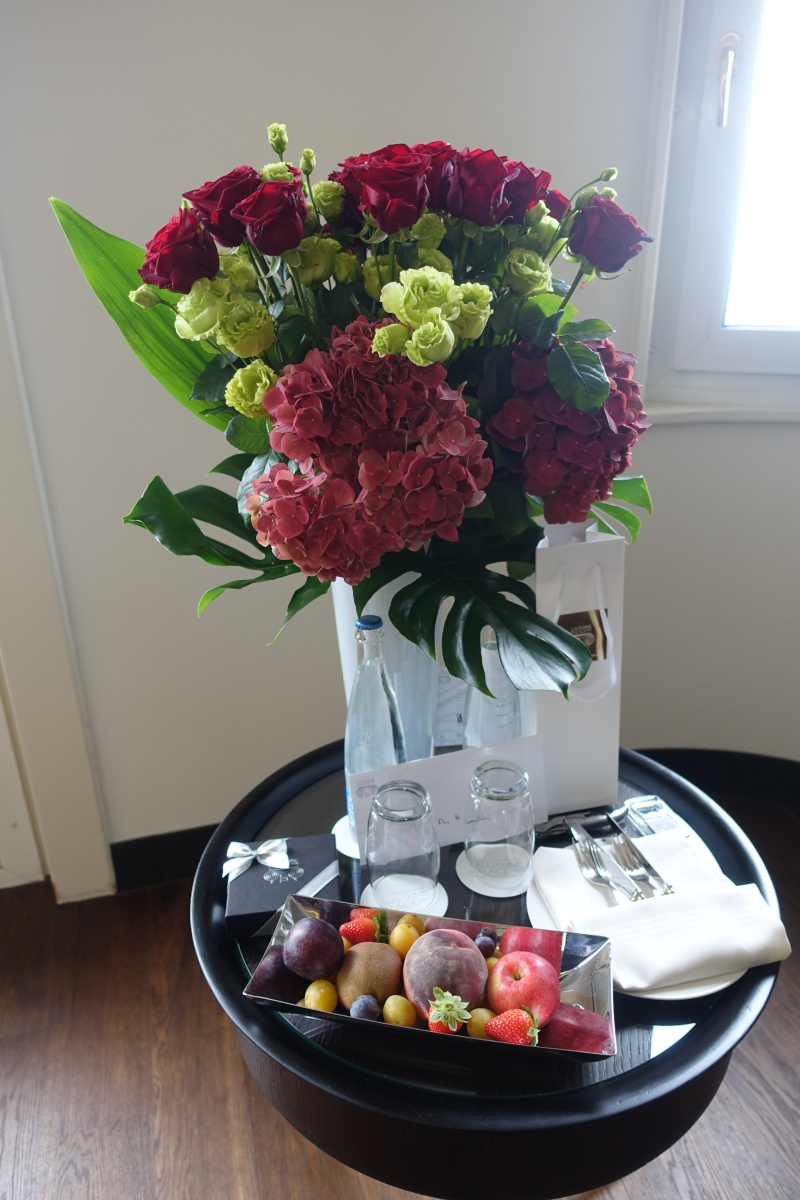 Flowers and Fruit, Lausanne Palace & Spa Review