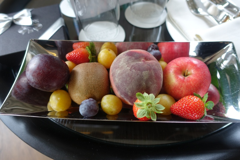 Fruit Welcome Amenity, Lausanne Palace & Spa Review