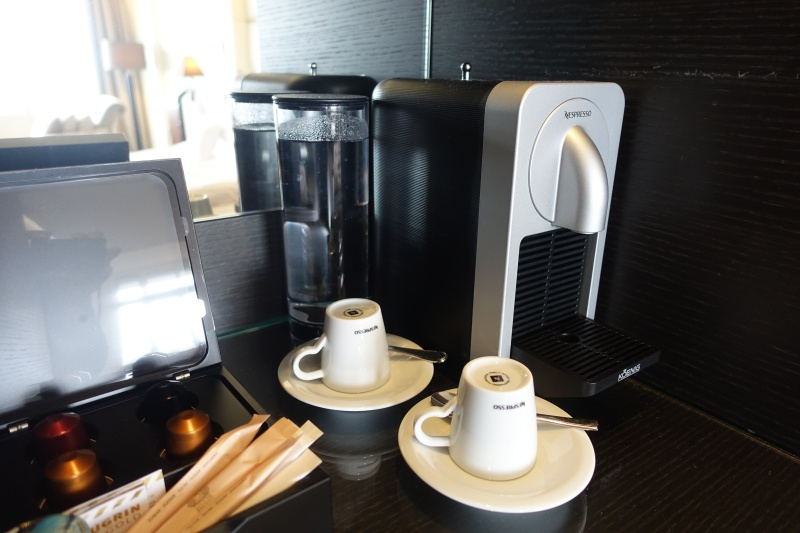 Nespresso Machine, Lausanne Palace & Spa Review