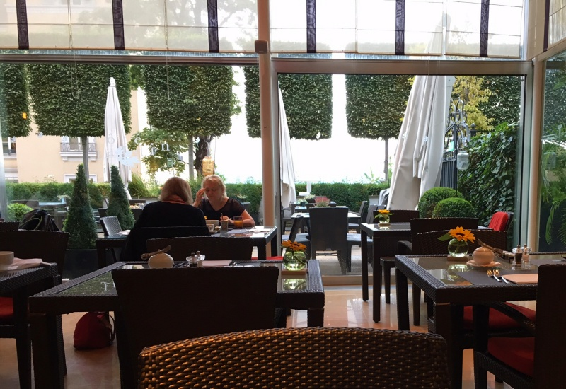 Cote Jardin Restaurant, Lausanne Palace & Spa Review