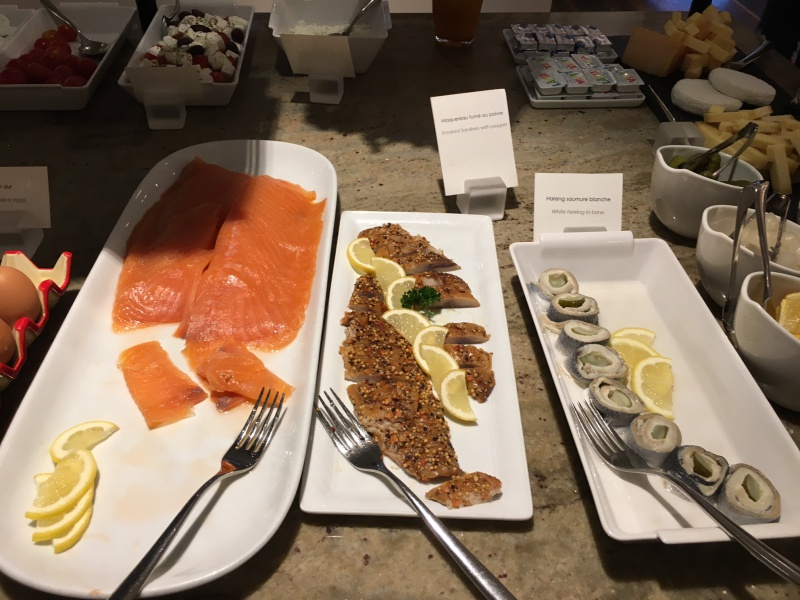 Smoked Salmon, Lausanne Palace & Spa