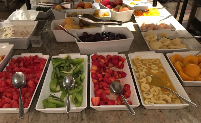 Fresh Fruit, Lausanne Palace & Spa Breakfast Buffet