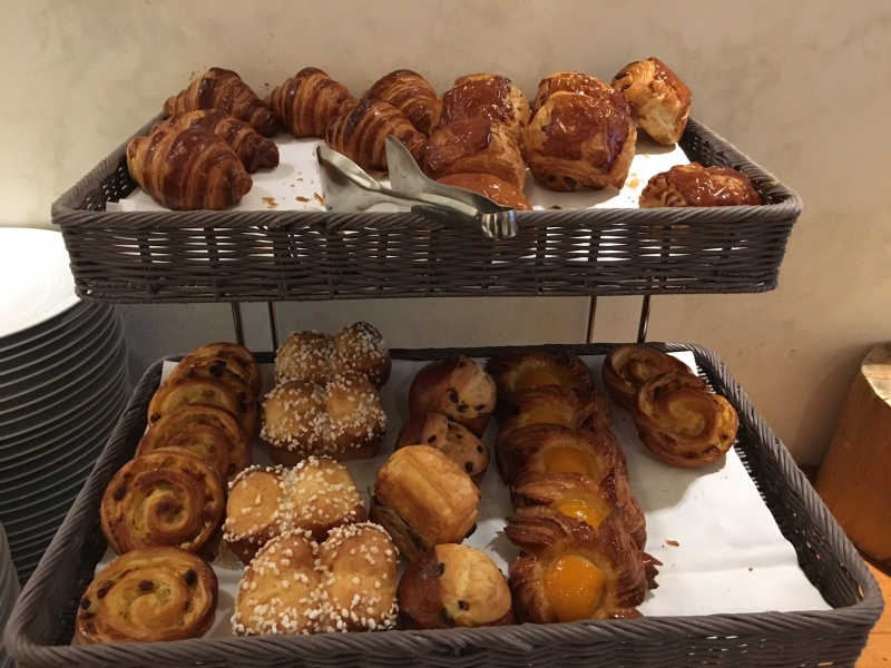 Pastries, Lausanne Palace & Spa Review
