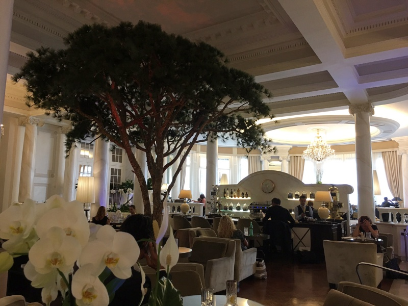 Lobby and Bar 1915, Lausanne Palace & Spa Review
