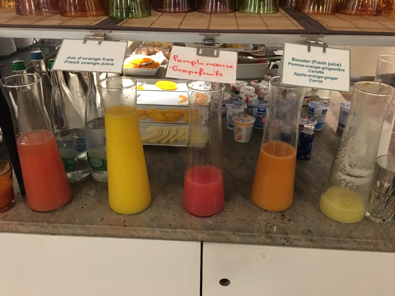Fresh Squeezed Orange Juice, Lausanne Palace & Spa Review