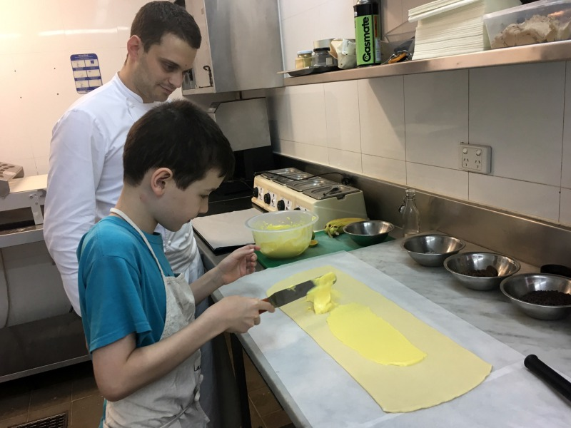 Cooking with Pastry Chef Lucas, Laucala