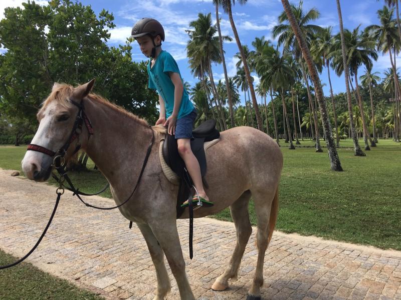 Horseback Riding, Laucala