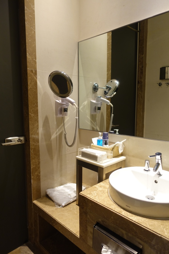 Shower Room, Singapore SilverKris Business Class Lounge Review