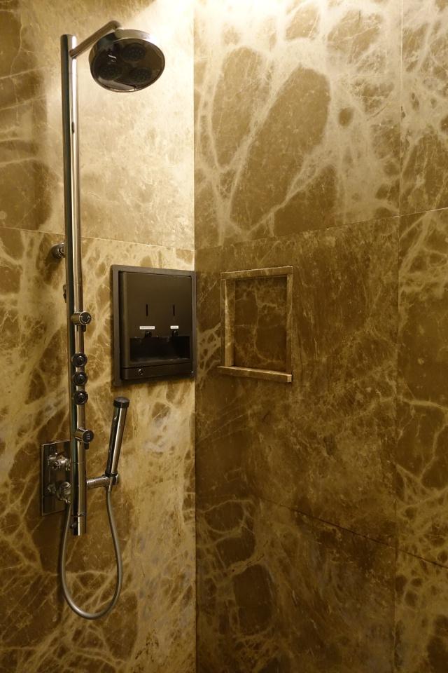 Shower, Singapore SilverKris Business Class Lounge Review