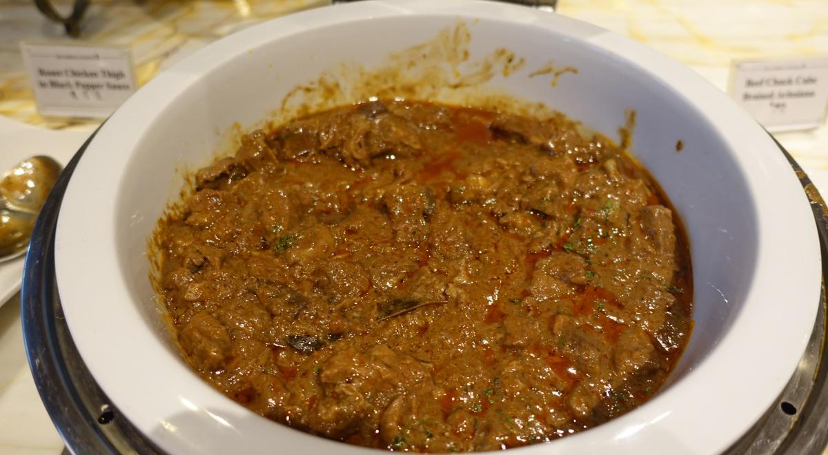 Beef Chuck Arlesiana, Singapore SilverKris Lounge Review
