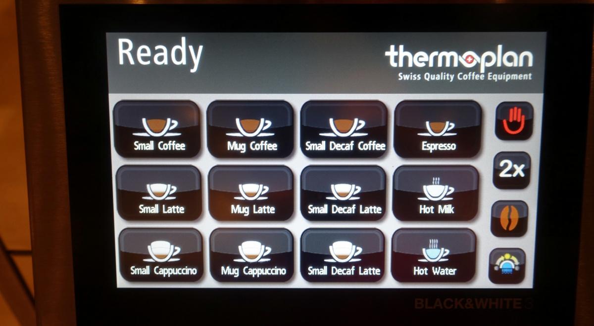 Thermoplan Coffee Machine, Singapore SilverKris Lounge Review