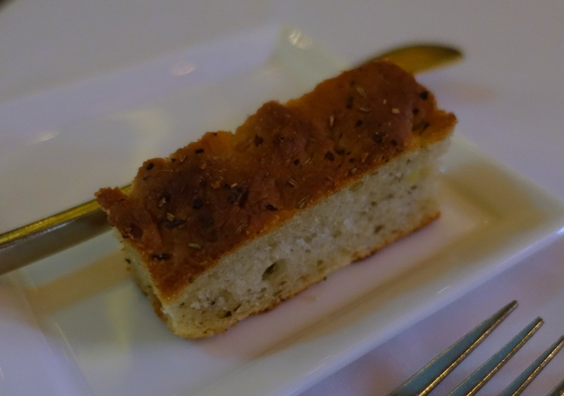 Focaccia, The Plumed Horse Review