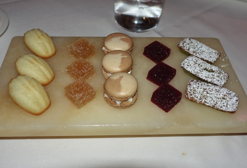 Mignardises, The Plumed Horse Review