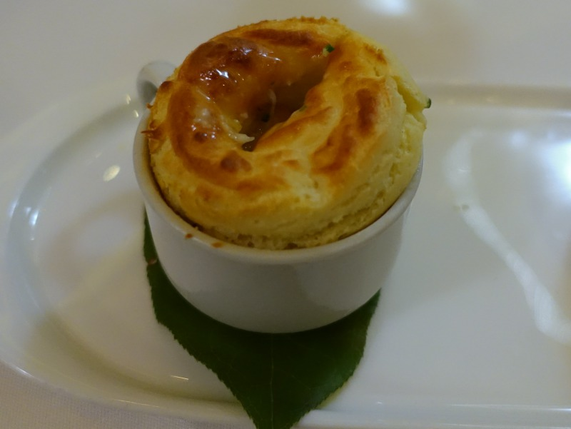 Black Pepper and Parmesan Souffle, The Plumed Horse Review