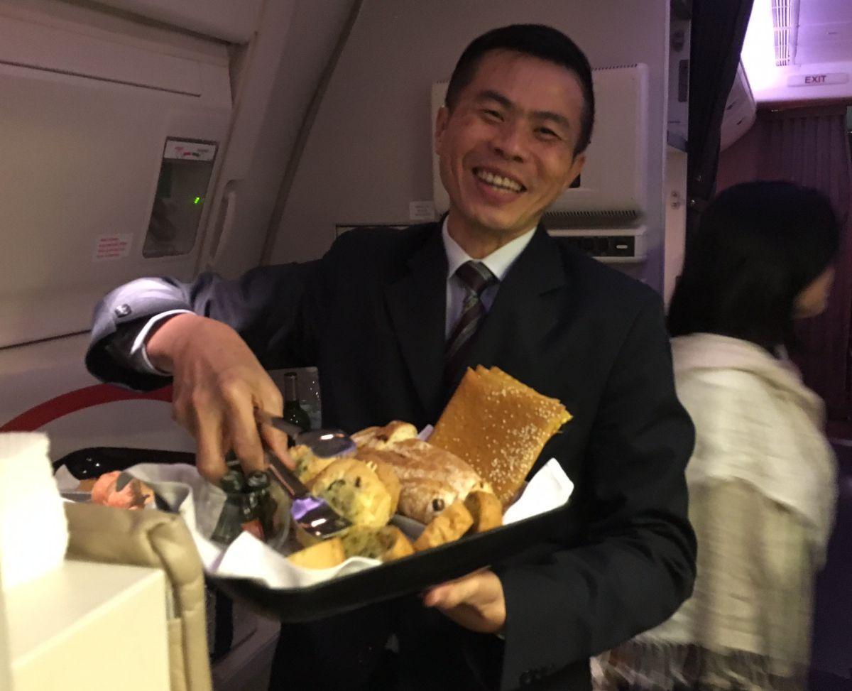 Bread Basket, Singapore Business Class Review