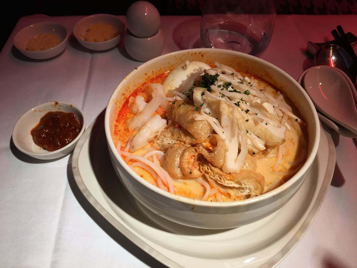 Laksa, Singapore Airlines Book the Cook
