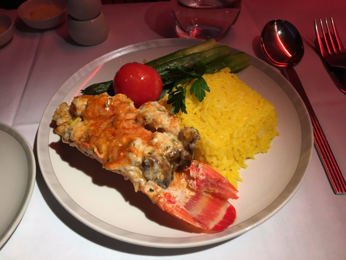 Lobster Thermidor, Singapore Book the Cook