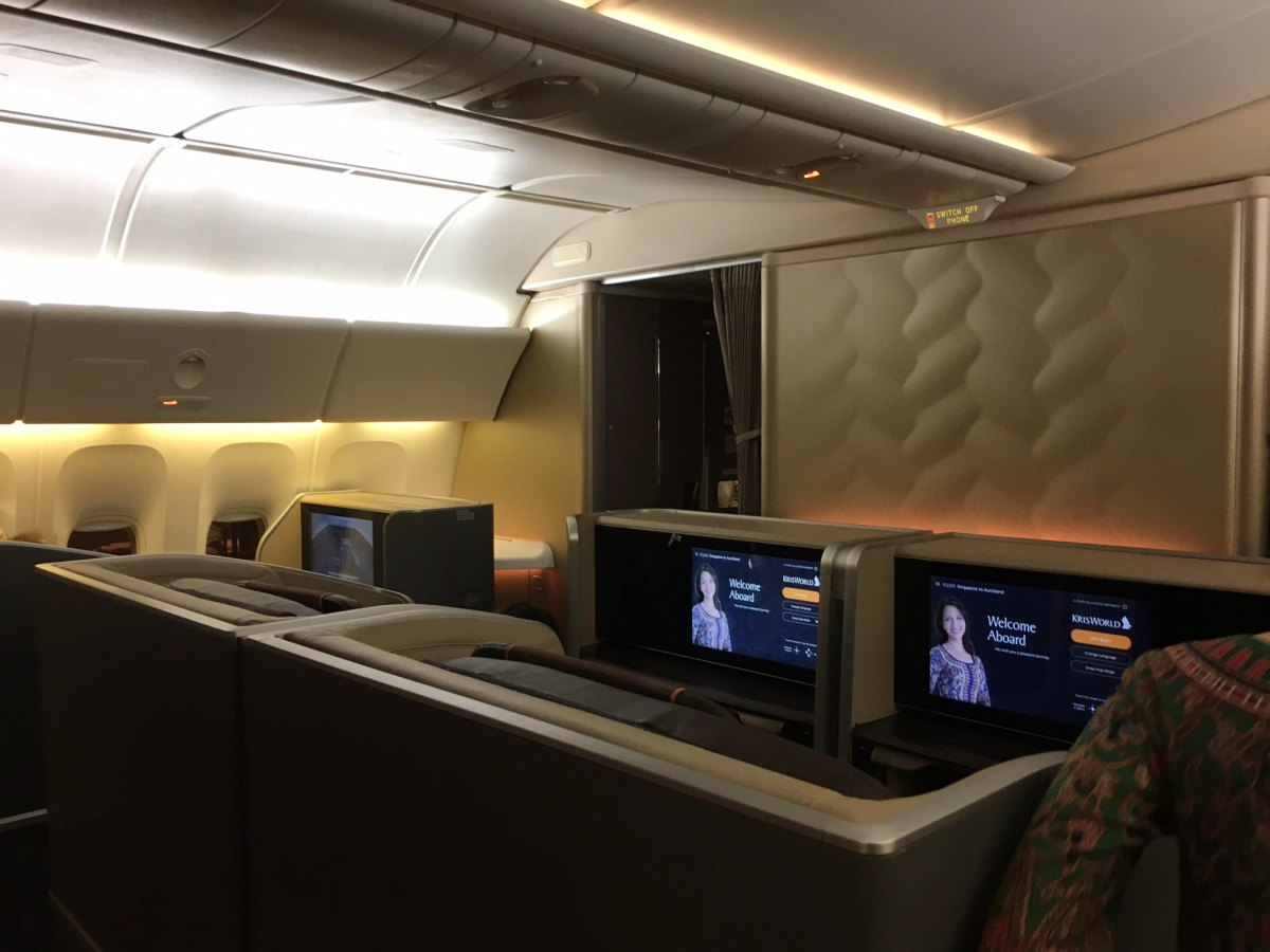 Singapore Airlines Business Class, 777-300ER Review