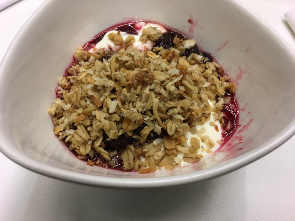 Yogurt with Granola, Novotel Auckland Airport Breakfast