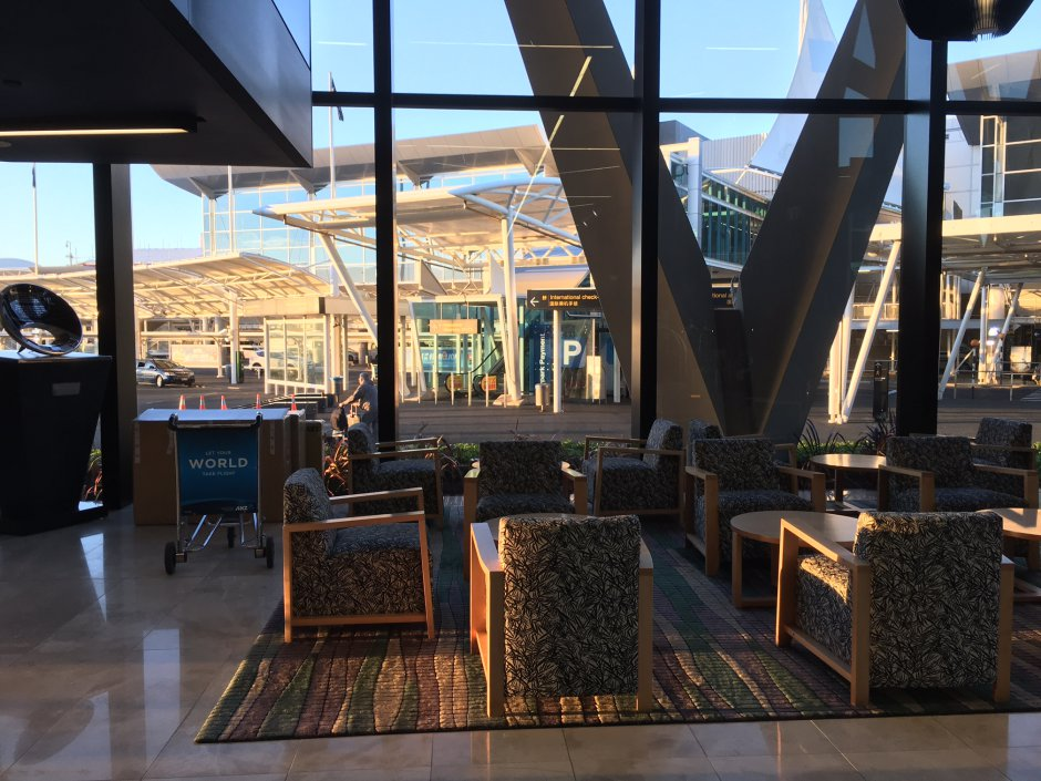Review: Novotel Auckland Airport Lobby