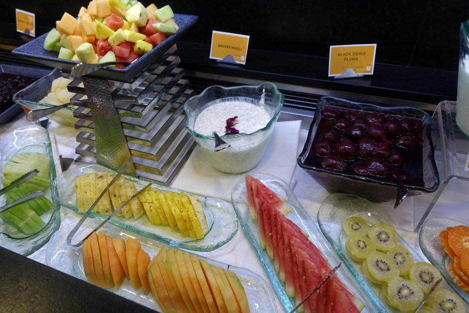 Fresh Fruit, Novotel Auckland Airport Breakfast Buffet