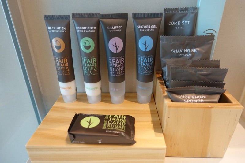 Fair Trade Bath Products, Novotel Auckland Airport Review